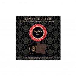 Etui 8 Carrés chocolat noir