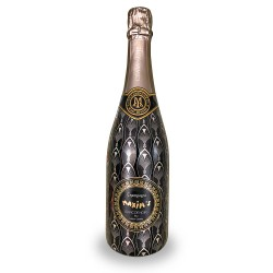 """Black and gold Cuvée """"Blanc..."""