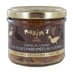 Terrine de canard aux figues parfumée au Loupiac - 90 g