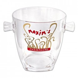 Transparent champagne bucket - Accessories - Maxim's Shop