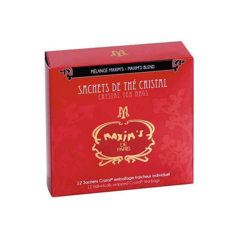 Etui 12 sachets de thé mélange Maxim's - Epicerie sucrée - Maxim's shop