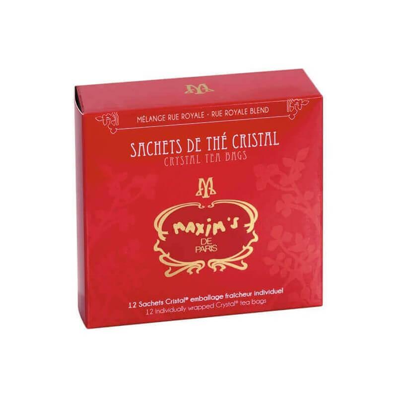 12 sachets de thé mélange rue Royale - Epicerie sucrée - Maxim's shop