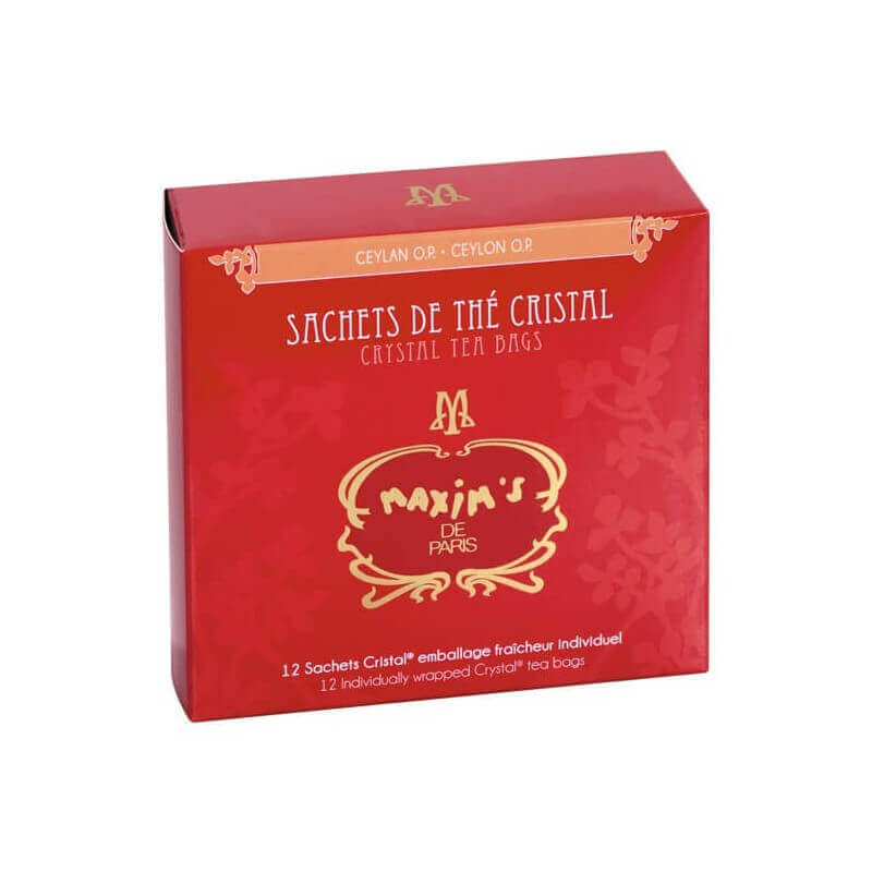 Cardbox 12 Ceylon OP tea bags - Sweets - Maxim's Shop