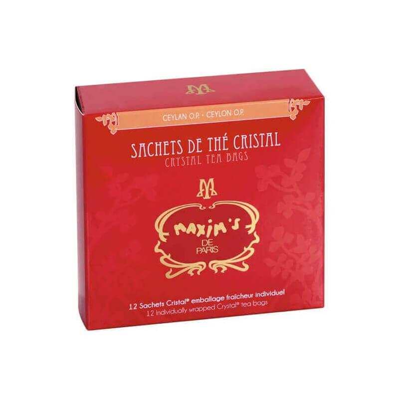 Etui 12 sachets de thé Ceylan OP - Epicerie sucrée - Maxim's shop