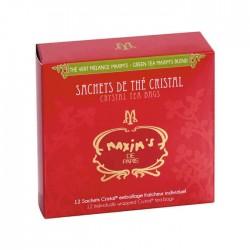 12 sachets thé vert mélange Maxim's - Epicerie sucrée - Maxim's shop