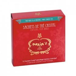 12 sachets de thé vert à la menthe - Epicerie sucrée - Maxim's shop