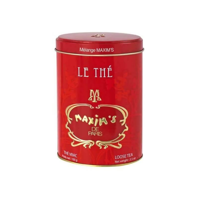 Boîte Thé vrac 100 g Mélange Maxim's - Epicerie sucrée - Maxim's shop