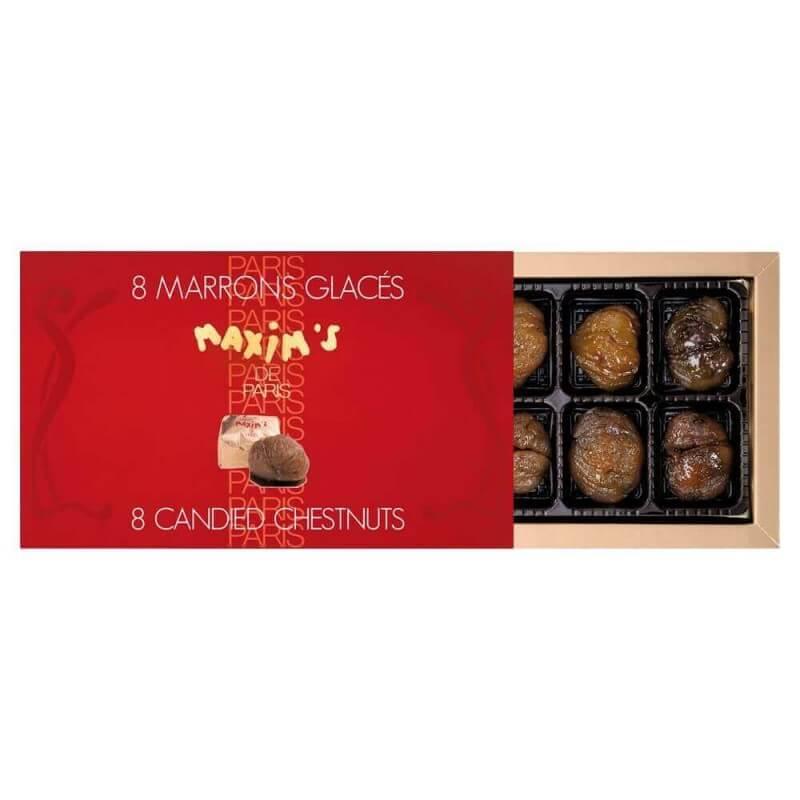 Etui 8 marrons glacés - Epicerie sucrée - Maxim's shop