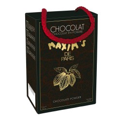 Black prestige oval tin of Chocolate Powder - Sweets - Maxim's Shop