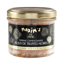 Country terrine with truffle juice - Jar 90 g