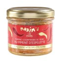 Pork terrine with Espelette pepper - Jar 90 g