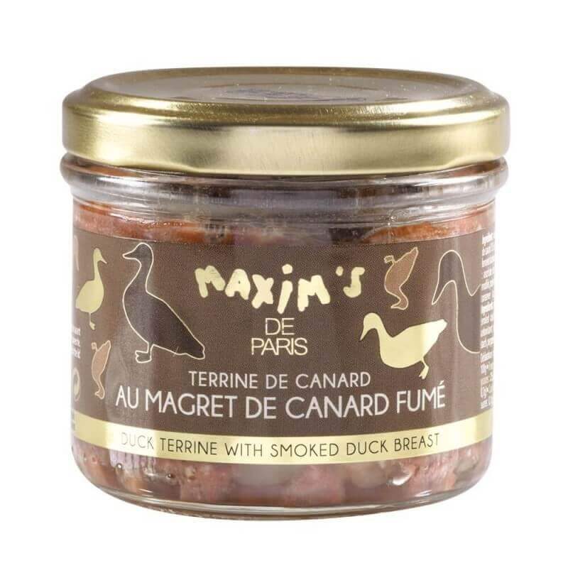 Duck terrine with smoked duck breast - 90 g - Maxim's Shop