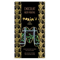Mint Dark chocolate bar - Chocolate - Maxim's de Paris
