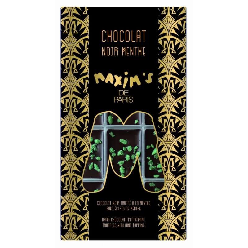 Tablette Chocolat Noir Menthe