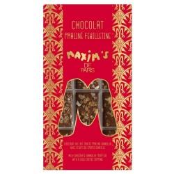 Tablette Chocolat Lait Gianduja Feuillantine