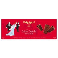 18 crêpes dentelle chocolat au lait- Epicerie sucrée - Maxim's shop