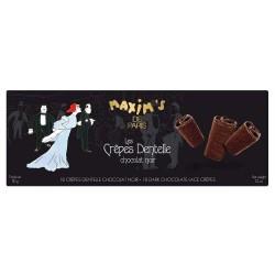 Etui 18 crêpes dentelle chocolat noir
