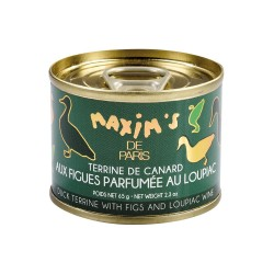 Duck terrine with figs & Loupiac wine - Tin 65 g