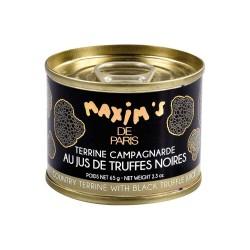 Terrine campagnarde au jus de truffes 65g