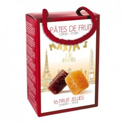 Ballotin 16 pâtes de fruits