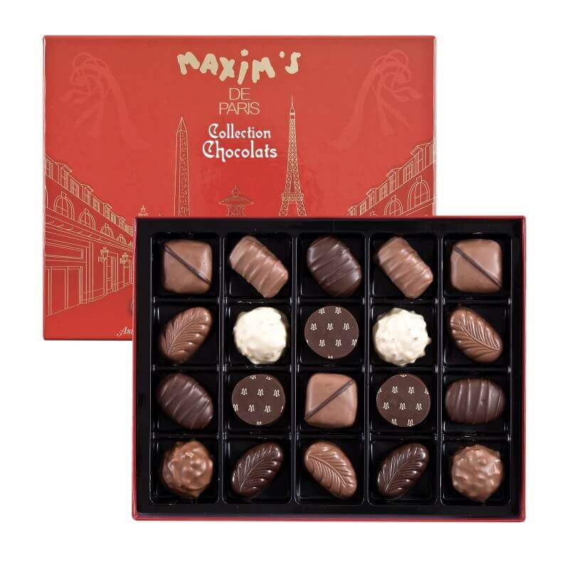Gift-box 20 chocolates Paris - Maxim's shop