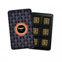 Black pencil tin dark chocolate squares - Chocolate - Maxim's shop