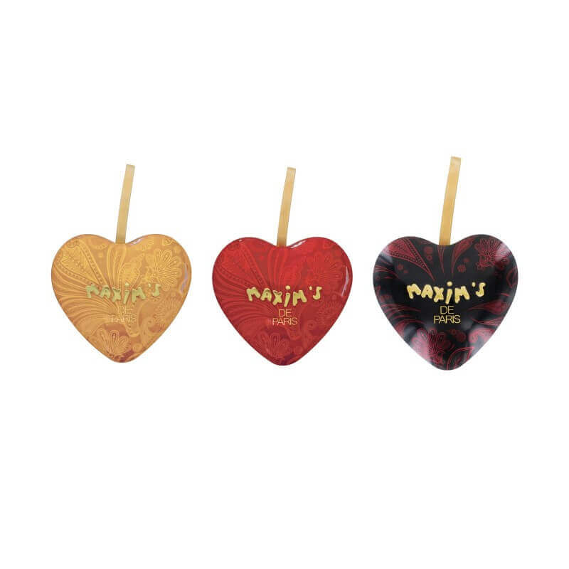 Gift-pack 3 mini Hearts - Chocolate confectionery - Maxim's shop