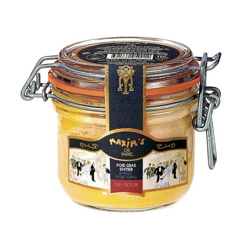 Whole goose foie gras - Jar 180 g