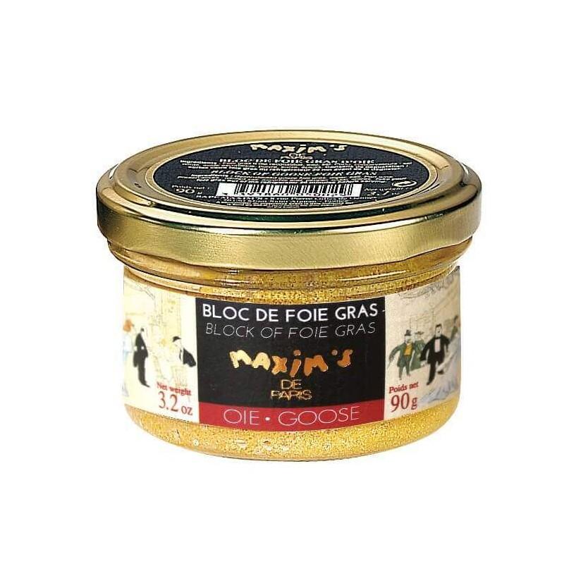 Bloc of goose foie gras - Jar 90 g