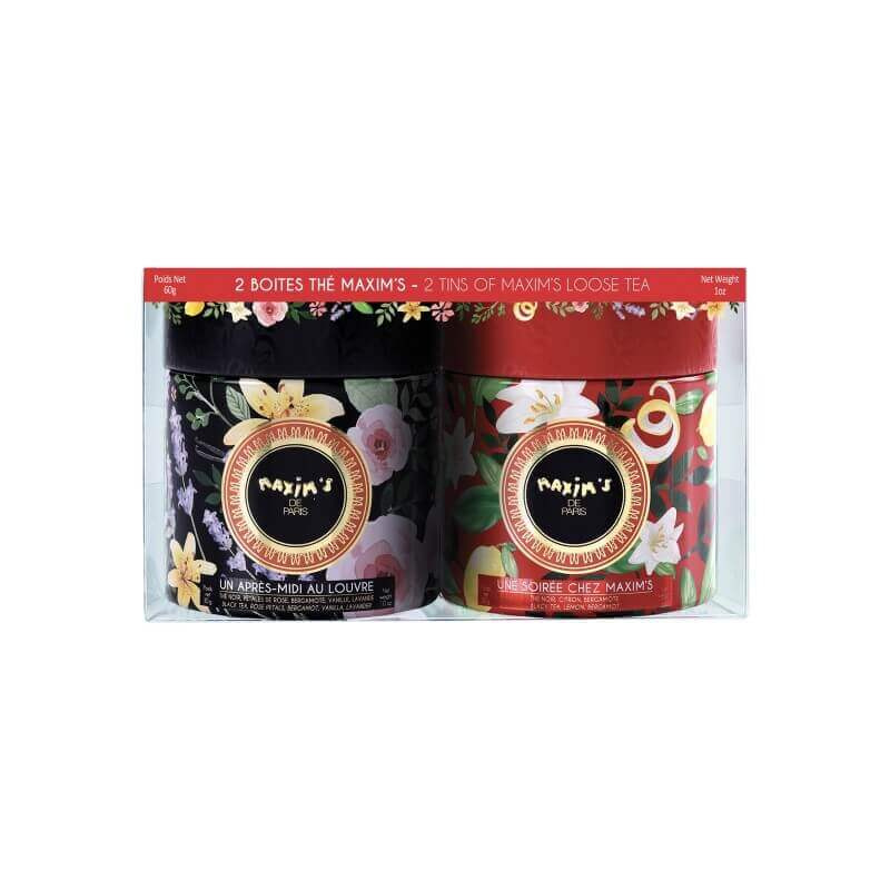 Oval tin of loose tea Maxim's blend - Sweets - Maxim's Shop