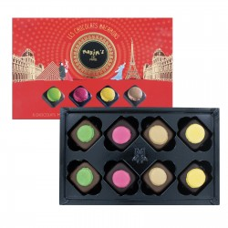 12 assorted macaroon chocolates - Chocolate assortment - Maxim's Shop
