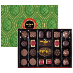Red tin 22 assorted chocolates with Easter sleeve
