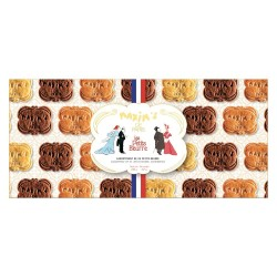 "Assortment of 24 ""Petits Beurres"" shortbread"