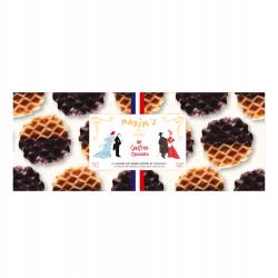 Étui 12 gaufres au chocolat