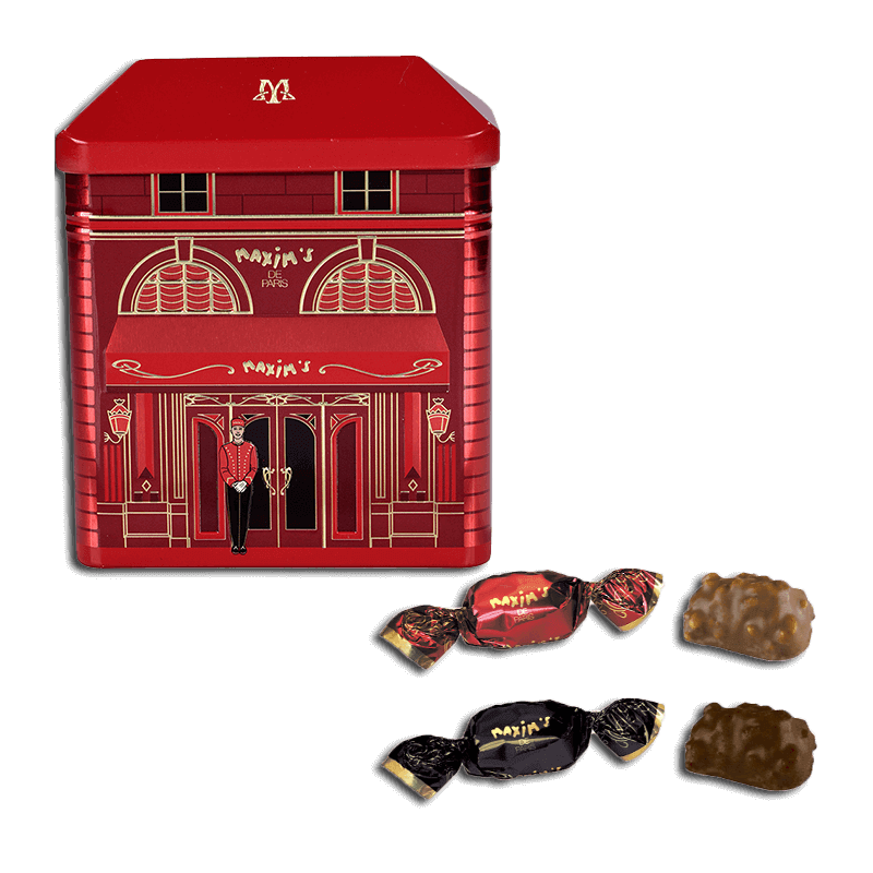 Collection tin Maxim's Restaurant - Chocolate confectionery - Maxim's shop