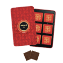 Red pencil tin milk chocolate squares - Chocolate - Maxim's shop