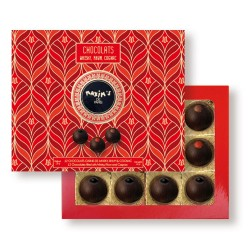 Box of 12 chocolats with...