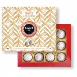 Cardbox 12 Champagne Truffles