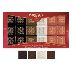 Étui 32 carrés de chocolat