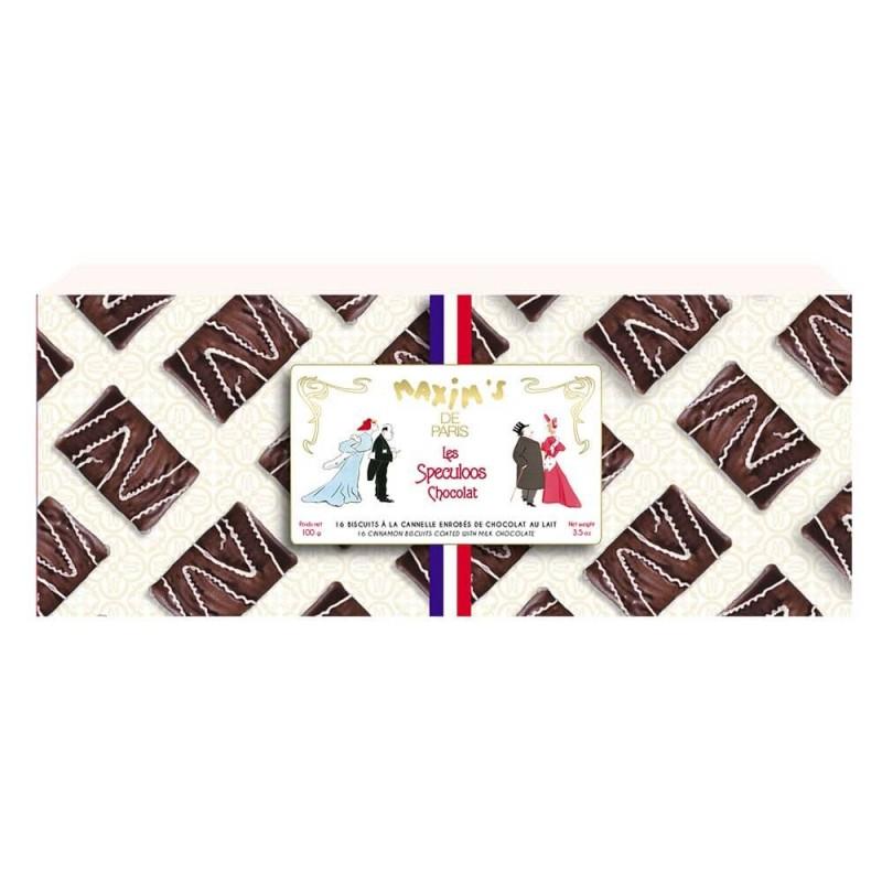 Étui 16 spéculoos chocolat