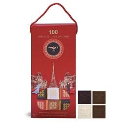 Etui 100 carrés de chocolat...