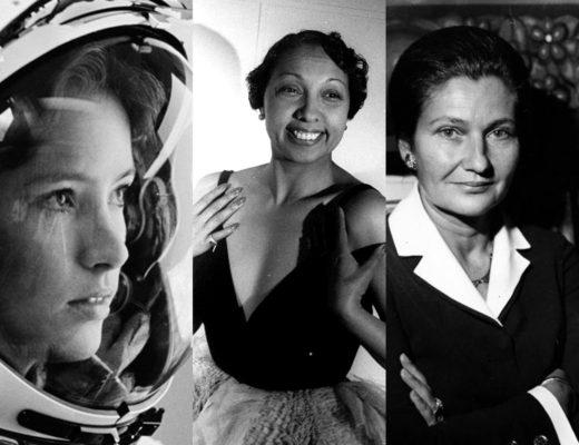 Simon Veil - Anna Fisher - Joséphine Baker - Maxim's de Paris