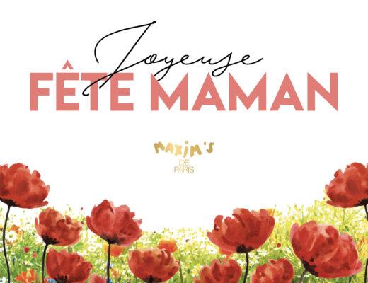 Fete des meres - Maxim's de Paris