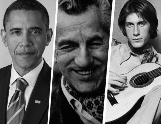 Barack Obama - Louis Vaudable - Jacques Dutronc - Maxim's de Paris