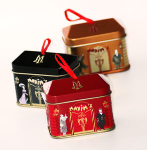 Idée cadeau de table : Les mini maisons Maxim's