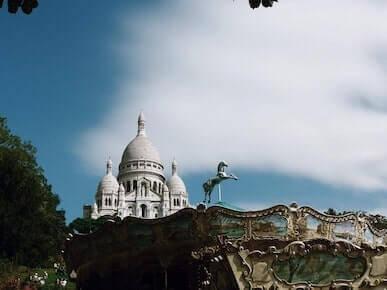 Le Sacré Coeur à deux pas de notre boutique de Montmartre